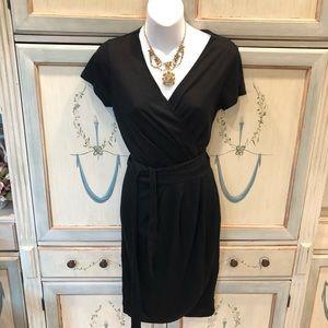 Banana Republic NWT black summer wrap dress